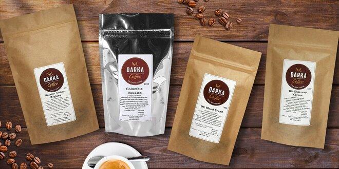 Zrnková káva z Latinskej Ameriky: 200 gramové aj kilové balenia