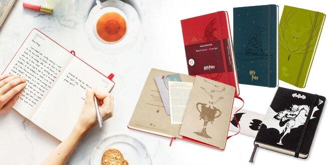 Limitovaná edícia dizajnových zápisníkov Moleskine