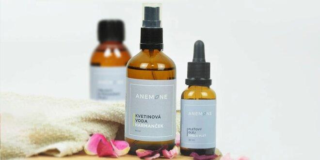 Pleťové a masážne oleje či kvetinové vody