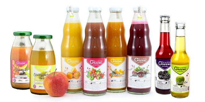 Osviežte sa 100% prírodnými ovocnými šťavami