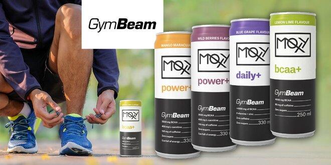 Osviežujúce funkčné drinky Moxy nielen pre športovcov