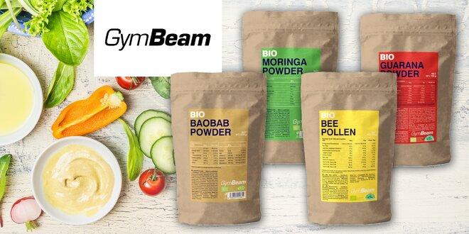 Bio superpotraviny v prášku od značky GymBeam