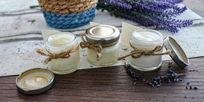 Prírodné krémové voňavky a dezodoranty 2v1