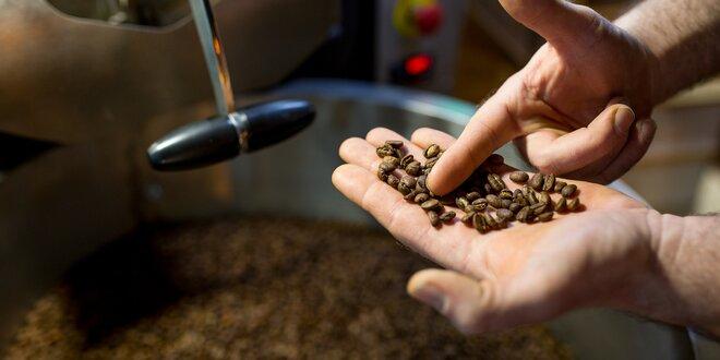 Čerstvo pražená káva priamo z pražiarne