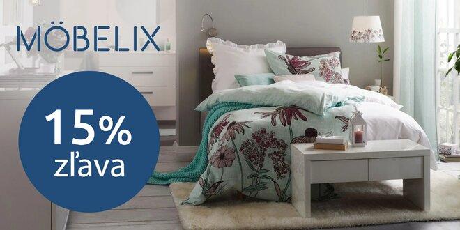 Möbelix: 15% zľava do e-shopu s nábytkom