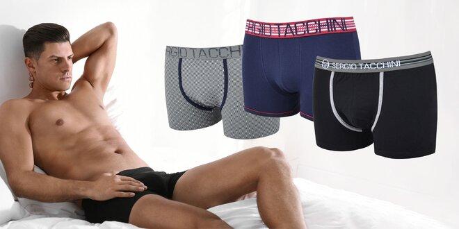 Pánske boxerky Sergio Tacchini vo veľkostiach M a L