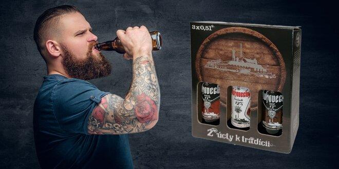 Darčekové balenie piva Hlohovecký ležiak