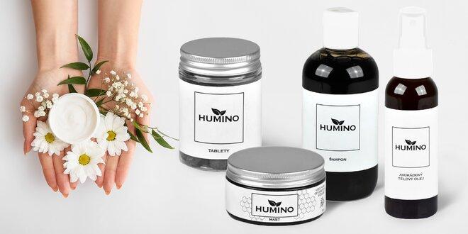 Prírodné produkty Humino nielen na lupienku a ekzémy