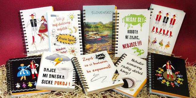 Vtipné zápisníky pre vychodňare, stredňare i zapadňare