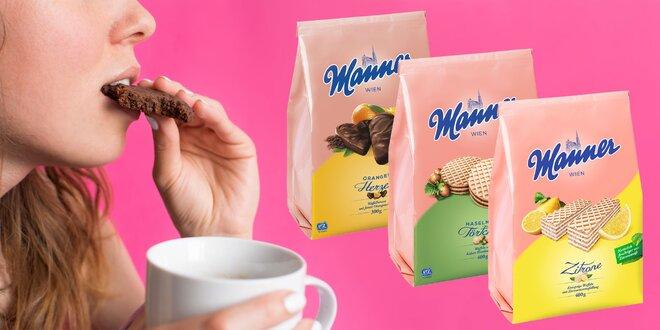 Sušienky a oblátky Manner: 15 sladkých variantov