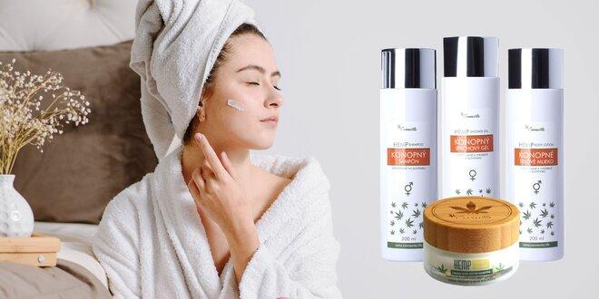 Kvalitná konopná kozmetika pre dámy aj pánov