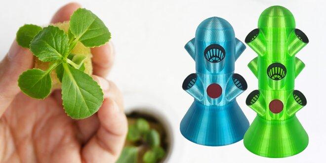 Systémy na domáce mikro pestovanie byliniek či kvetov