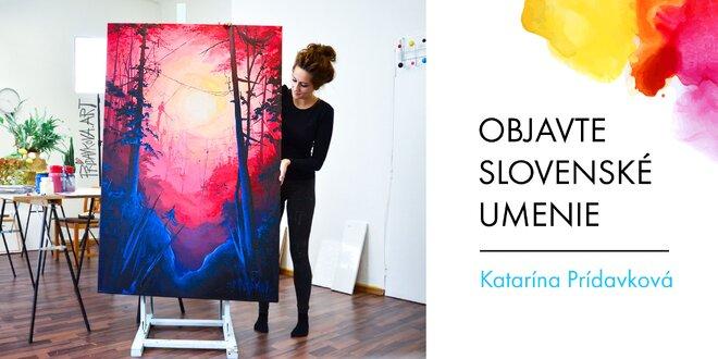 Printové reprodukcie diel od maliarky Katky Prídavkovej