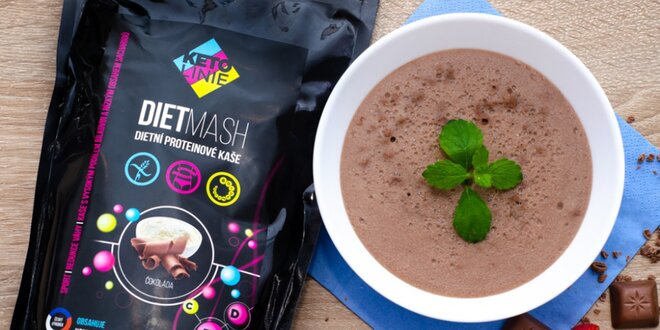 Proteínové nápoje, polievky, kaše, müsli a smoothie