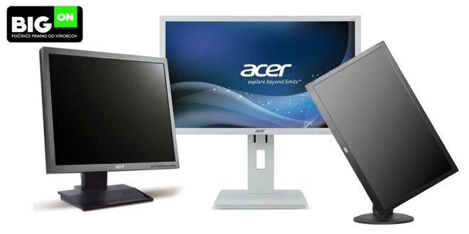 Kvalitné repasované značkové monitory pre prácu i zábavu
