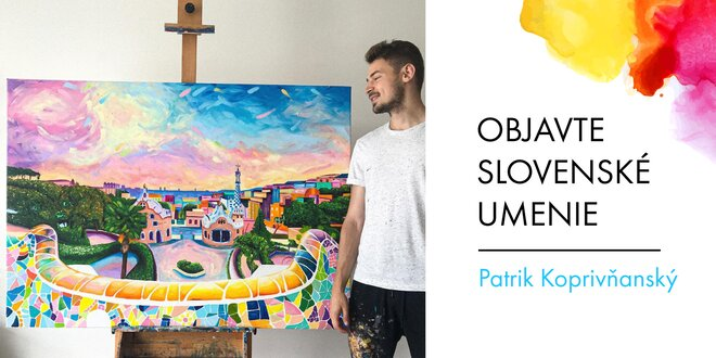 Maľby slovenského umelca Patrika Koprivňanského