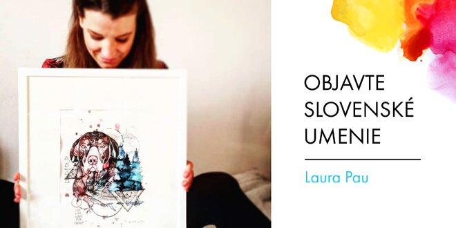 Maľby a kresby na zákazku od slovenskej maliarky Laury Pau