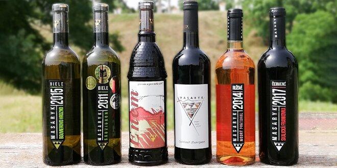 Kvalitné slovenské vína zo skalického vinárstva Masaryk