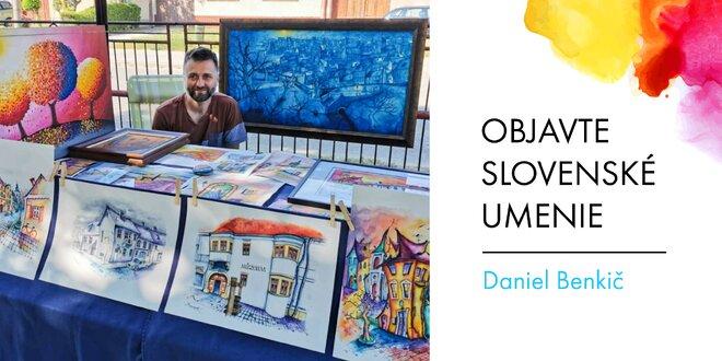 Printové reprodukcie diel od umelca Daniela Benkiča