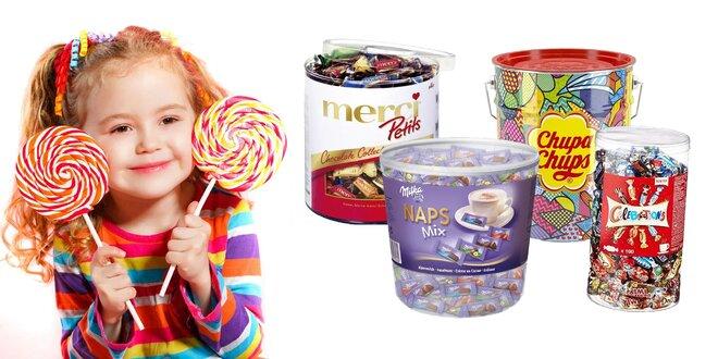 Pre maškrtníkov: boxy cukroviniek Milka, Merci a iné