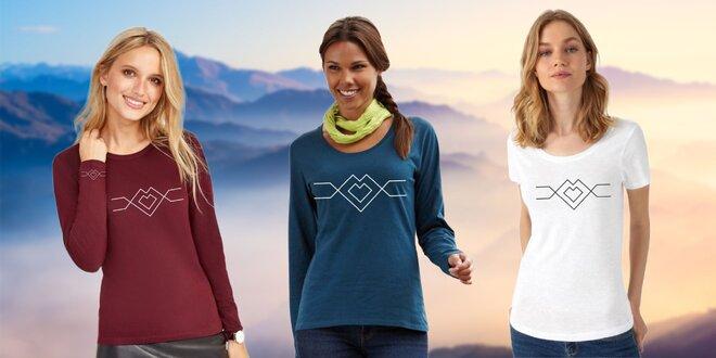 Originálne tričká #naseslovenske – bavlnené i funkčné
