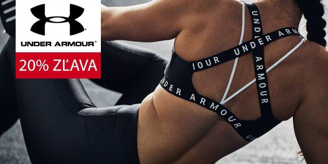 20% zľava na nákup produktov Under Armour v EXIsport