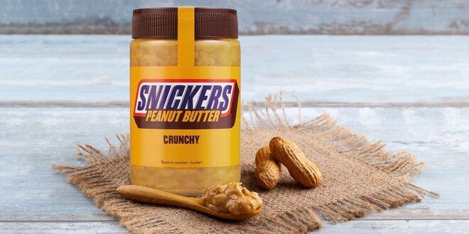 Božské maškrtenie: orechové maslo s príchuťou Snickers