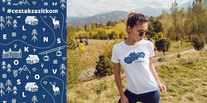 Jedinečné tričko pre všetkých milovníkov Slovenska - originálny SK dizajn, 100 % bavlna