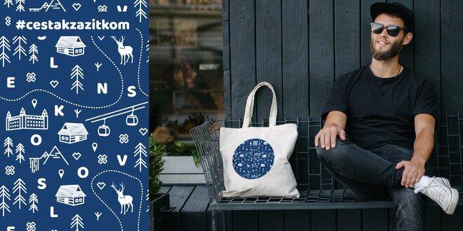 """Pôvabná eko nákupná taška z kolekcie """"Cesta k zážitkom"""""""