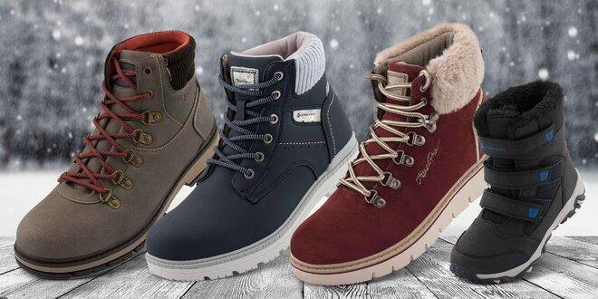 Zimné topánky pre celú rodinu zn. Alpine Pro