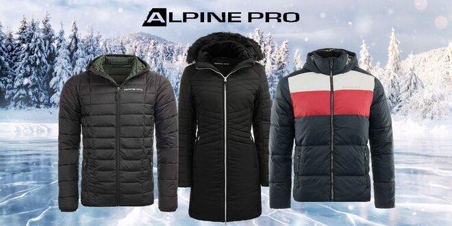 Dámske kabáty a pánske bundy Alpine Pro