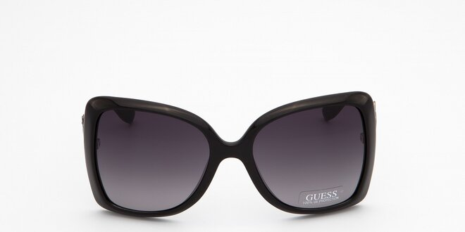 dfe1eef7d Dámske čierne slnečné okuliare Guess | Zlavomat.sk