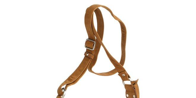 Dámska koňaková kabelka Fuchsia
