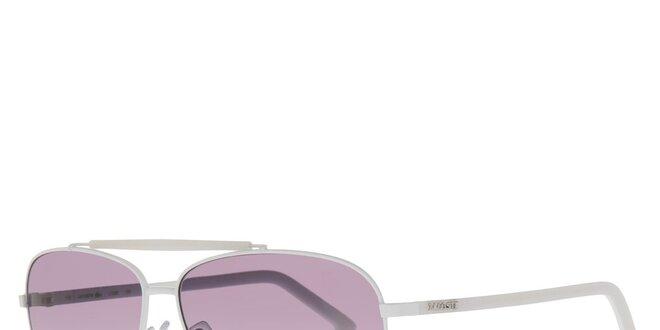 3f8085edf Biele pánske slnečné okuliare Lacoste | Zlavomat.sk