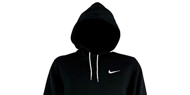 Pánska čierna mikina s kapucňou Nike  dfa51393962