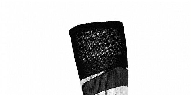 Pánske čierne lyžiarske ponožky Envy s merino vlnou