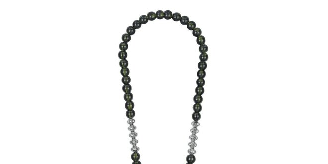 1bed93405 Dámsky dlhý náhrdelník so zelenými kamienkami EDC by Esprit ...