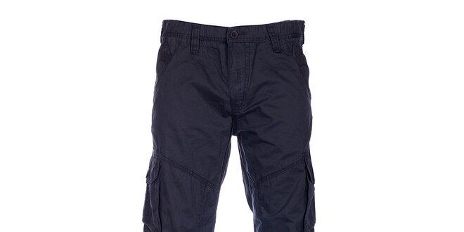 11efe327df6a Pánske čierne športové nohavice Loap