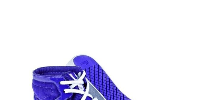 6240a2f76a5 Dámske fialkové kotníkové tenisky Lacoste