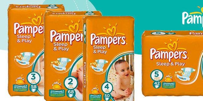 Maxi balenie plienok Pampers Sleep&Play