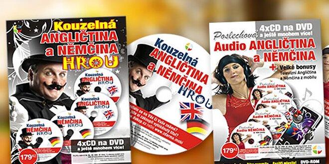 Posluchová AUDIO angličtina a nemčina HROU