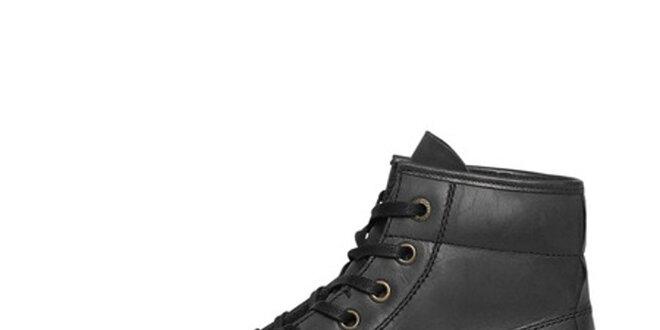 Pánske čierne vysoké topánky Buggy