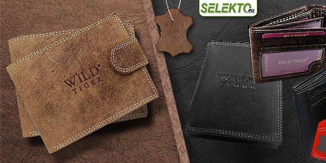 18ecee0d4 Elegantné kožené peňaženky WILD Tiger | Zlavomat.sk