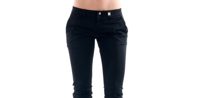 bb0a1f2ce71b Dámske čierne úzke nohavice Amy Gee
