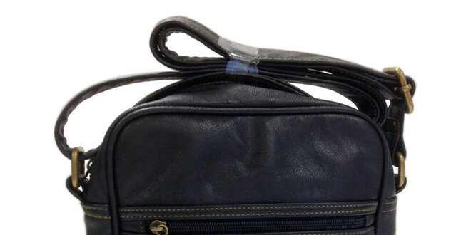 Väčšia čierna taška cez rameno Dunlop