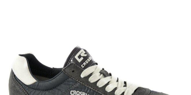 Pánske šedé tenisky Crosby  73b714fd54a