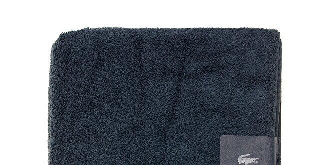 Veľká oceľovo modrá osuška Lacoste