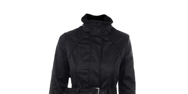Dámsky čierny kabát Company&Co