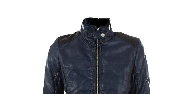 Dámska tmavo modrá motorkárska bunda Company&Co