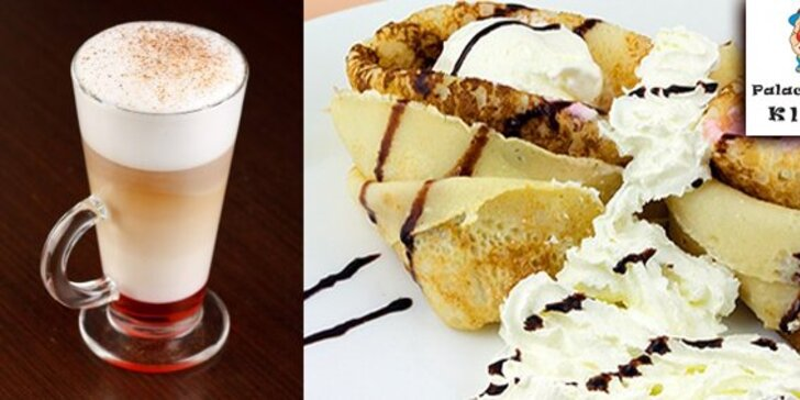 1,90 Eur za sladké palacinky a ľahučké Café Latté k tomu! Príďte potešiť Vaše maškrtné jazýčky do palacinkárne Klaun v OC Mirage a ušetrite 59%